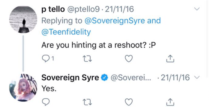 Sovereign Syre tweet about Ryan Madison